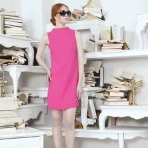 Alice + Olivia Darcey Mini Hot Pink Dress